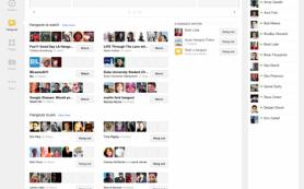 Редизайн Google Plus: добавлены функции, позаимствованные у конкурентов