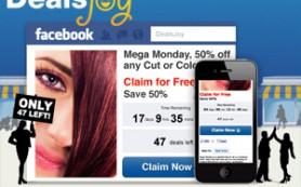 DealsJoy – новая купонная платформа для Facebook от One iota
