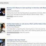 В новостной ленте Facebook появилась реклама