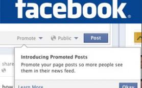 Facebook запустил продвигающие публикации и разнообразил премиум-рекламу