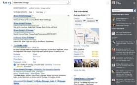 Microsoft добавила «социальную» колонку к поисковой выдаче Bing