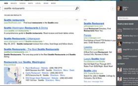 Bing запустил новый интерфейс социального поиска