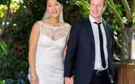 Глава Facebook Марк Цукерберг женился без предупреждения