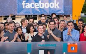 Акции Facebook не показали ожидаемого роста