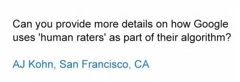 Мэтт Каттс рассказал о роли асессоров в оценке качества поисковой выдачи Google