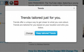 Twitter запускает персонализированные тренды сервиса
