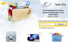 Сервис для удаленного хранения файлов Яндекс.Диск теперь и в Турции