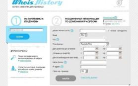 Регистратор R01 запустил сервис, позволяющий узнать историю домена