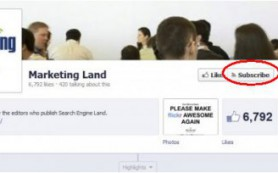 Facebook тестирует кнопку Subscribe для страниц