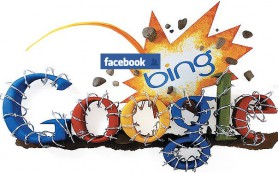 Bing рассылает выдачу друзьям на Facebook