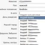 «ВКонтакте» дала возможность сменить «семейный статус» на «влюблен»