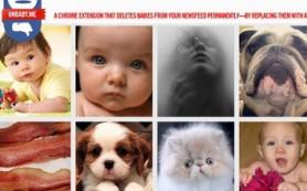 Детей в Facebook заменят кошками