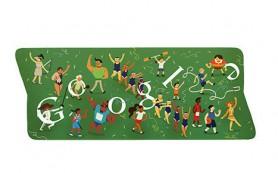 Google завершила серию олимпийских «дудлов» логотипом к закрытию Игр