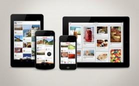 Соцсеть Pinterest выпустила приложения для iPad и Android-устройств