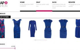Snap Fashion — первый модный визуальный поисковик