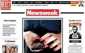 Американский журнал Newsweek меняет свой формат