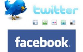 Facebook реже показывает репосты из Twitter