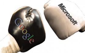 Microsoft прекращает рекламную кампанию против Google