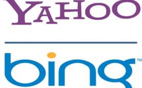 Доля Bing растет за счет Yahoo