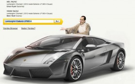 Lamborghini для турецкого пользователя Яндекс.Браузера