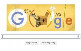 Google отметила логотипом автора парадокса «кота Шредингера»