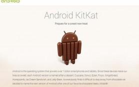 Новая версия платформы Google Android получит название KitKat