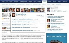 Yahoo прекратил поддержку функции Social Bar, созданной в партнёрстве с Facebook