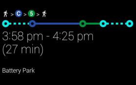 Google добавил навигацию в Google Glass