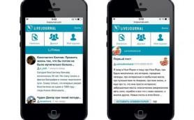 «Живой журнал» обновил мобильную версию сайта