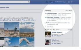 Facebook запускает «Тренды» для отслеживания актуальных тем на сайте