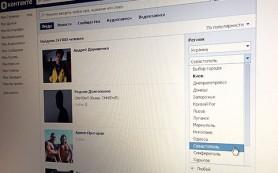 «ВКонтакте» находит Крым на Украине