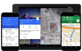 Google добавила к мобильным картам цены на такси Uber
