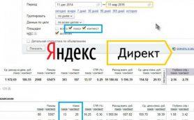 Яндекс.Директ меняет диапазон дат в отчетах