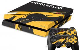 Виниловые наклейки на PS4