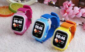 Обзор детские часы gps — baby watch q100.