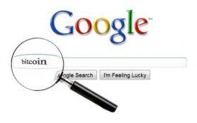 Количество запросов к Google о биткоине с начала года упало на 75%