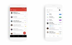 Google провёл редизайн приложений Gmail для iOS и Android