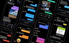В Facebook Messenger появился ночной режим