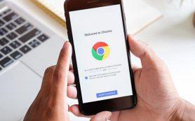 Google Chrome будет показывать в адресной строке только имя домена