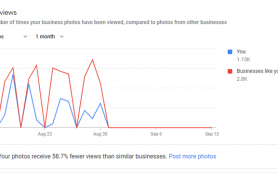 Google Мой бизнес задерживает отчётность по фото
