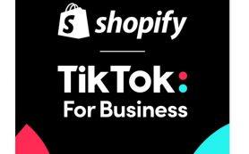 TikTok объявил о новом глобальном партнёрстве с Shopify