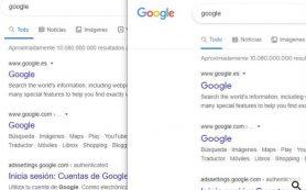 Google тестирует новый шрифт в десктопной выдаче