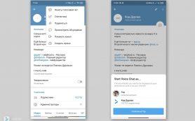 Telegram тестирует новые возможности голосовых чатов