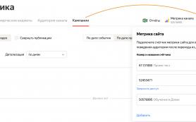 Цели Метрики появились в статистике Яндекс.Дзена