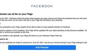 В Facebook появятся подкасты