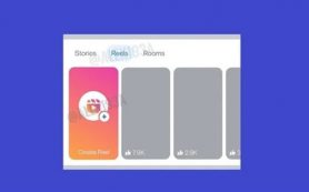 Facebook тестирует новый дизайн панели Stories с Instagram Reels и Rooms