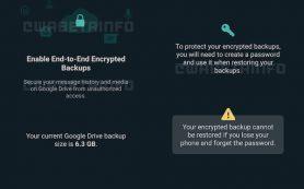 WhatsApp начнет шифровать резервные копии в облаке